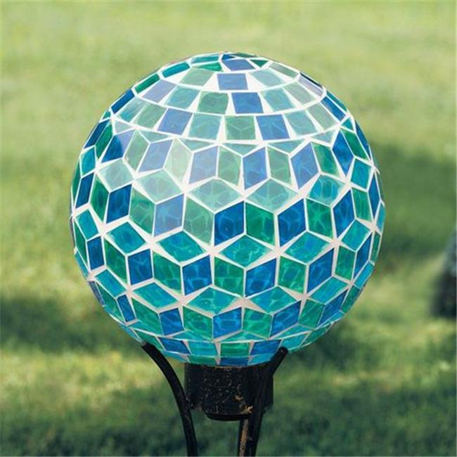 Carson 65818 10 in. Blue Mirror Gazing Ball by Marson
