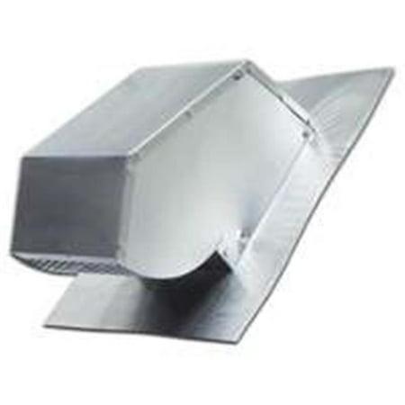 109R Aluminium Roof Cap Fits 4 In. - Duct Roof Cap