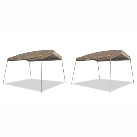 Z-Shade 12 x 14 Foot Panorama Pop Up Canopy Tent Outdoor Shelter Tent (2 Pack) - 12 Foot