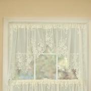 Heritage Lace Tea Rose Tier Curtain