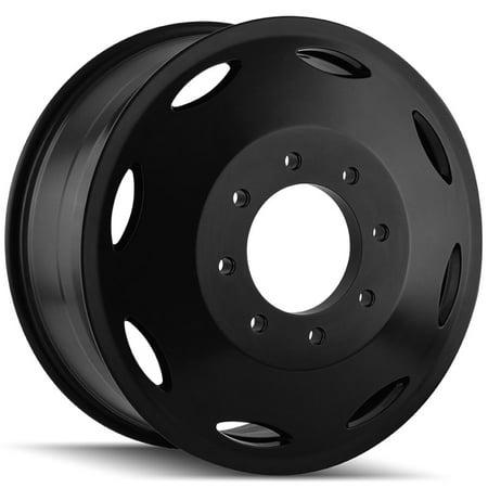 20 Black Fwd Wheels (Cali 9105 Brutal Dually Inner 20x8.25 8x6.5