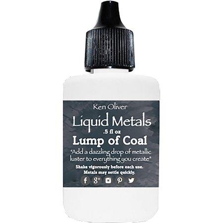 Ken Oliver Liquid Metals .5Fl Oz-Lump Of Coal - image 1 de 1