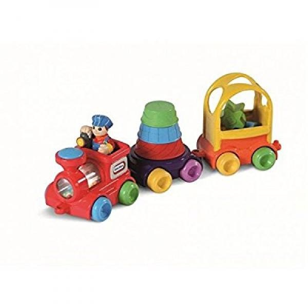 626609M Little Tikes DiscoverSounds Sort and Stack Train