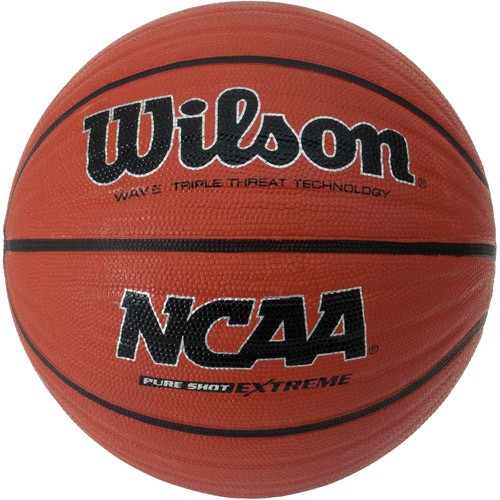 "Wilson Pure Shot Extreme 28.5"" Basketball Wave Triple Threat Technology Brown by Wilson Sporting Goods"