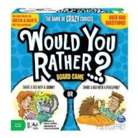 Spin Master Games 2014 Would You Rather Board
