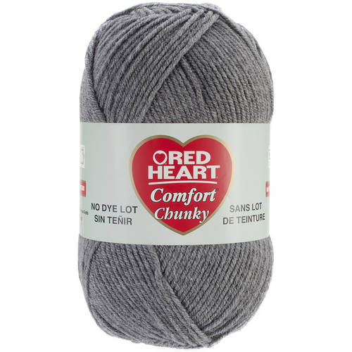 Red Heart Comfort Chunky Yarn, Available in Multiple Colors