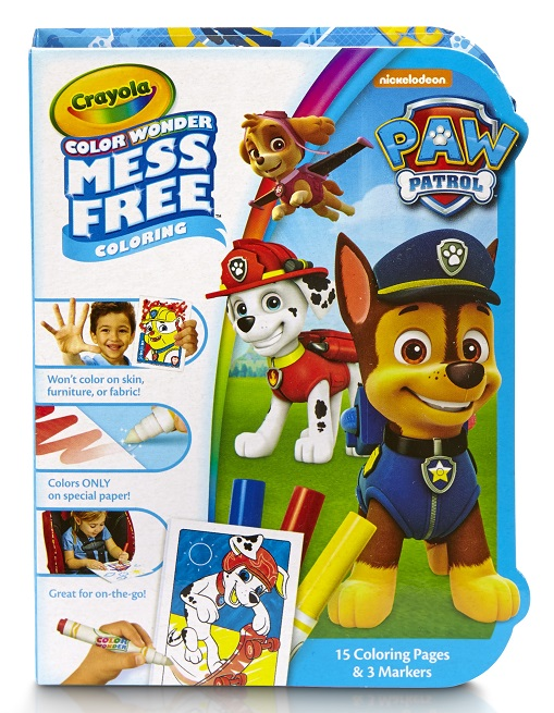 Crayola, Paw Patrol, Color Wonder On the Go, Mess-Free Coloring Paper and Markers, Art... by Crayola