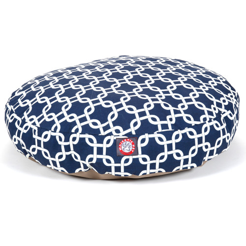 Majestic Pet Products Links Round Pet Pillow