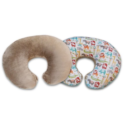 Original Boppy Pillow Slipcover, Plush Prints (Your Choice)