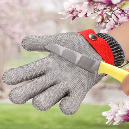 Ymiko Protection Glove Anti Cut Glove1pc Stainless Steel Cut Resistant