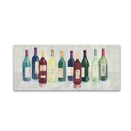 Avery Canvas (Trademark Fine Art 'Keeping Good Company on Wood Red Wine' Canvas Art by Avery)