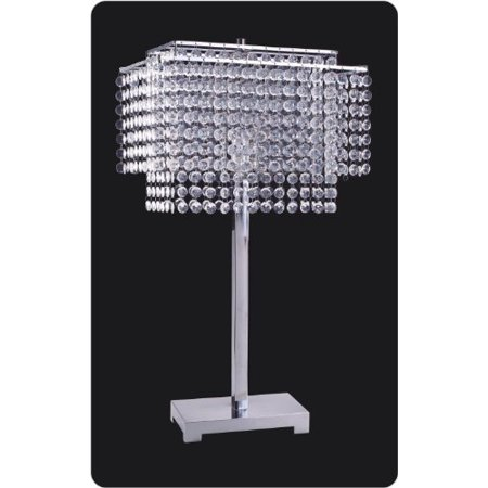 Stealstreet Ss Idi 732 Faux Crystal Table Lamp Shade 27