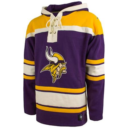 super popular d9a5e cbc8b Minnesota Vikings NFL '47 Heavyweight Jersey Lacer Hoodie ...