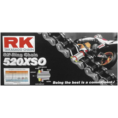 RK 520XSO108 520 XSO RX-Ring Chain - 108 Links