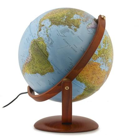 Waypoint Geographic Gibraltar Illuminated Desktop Globe