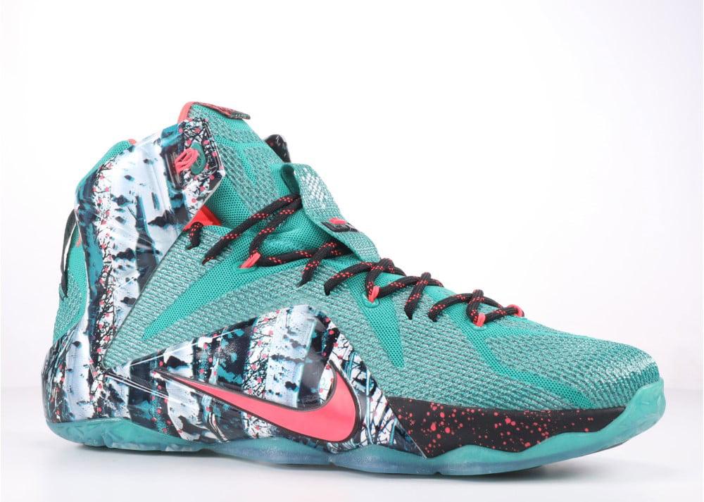 lower price with 07ee2 ea32d Nike - Men - Lebron 12 Xmas  Akron Birch  - 707558-363 - Size 8.5
