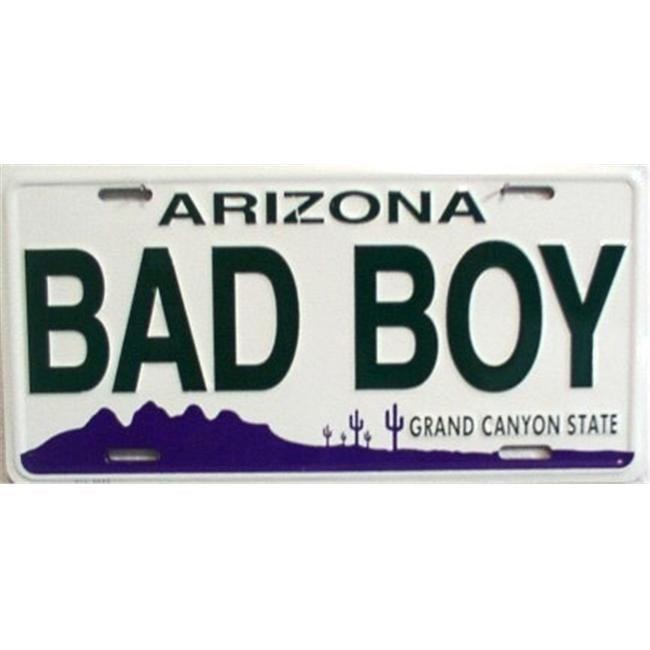 LP - 1091 AZ Arizona Bad Boy License Plate - A640