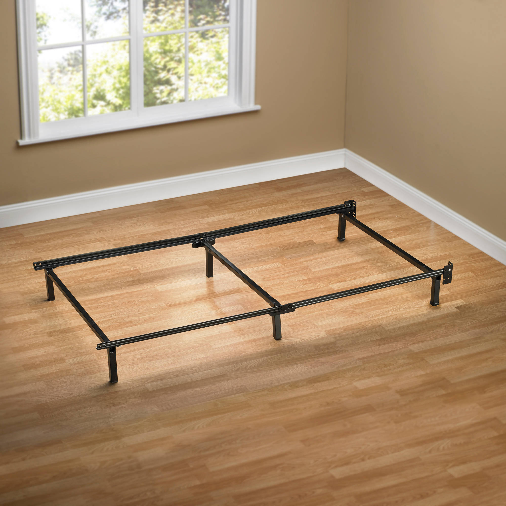 mainstays adjustable metal bed frame walmartcom