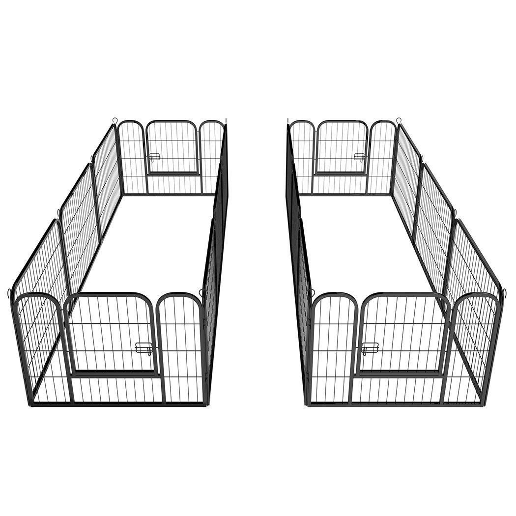 "24"" Tall 16 Panels Metal Pet Dog Puppy Cat Exercise Fence..."