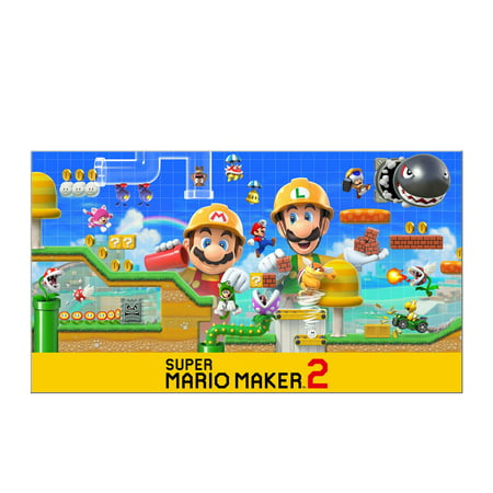 Super Mario Maker 2, Switch, Nintendo [Digital Download]