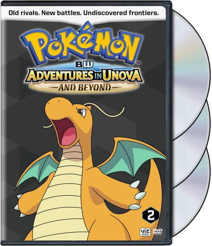 Pokemon Black & White Adventures in Unova & Beyond Set 2 (DVD) by Warner Manufacturing