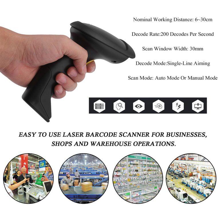 Businesses Shops 2.4G High Speed Wireless Laser Handheld ...