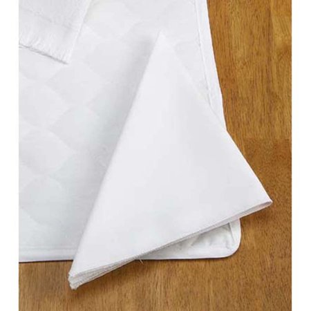 Herrschners® White Square Napkins, Set of 4 Fabric Blank ()