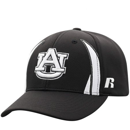 Men's Russell Black Auburn Tigers React Adjustable Hat -