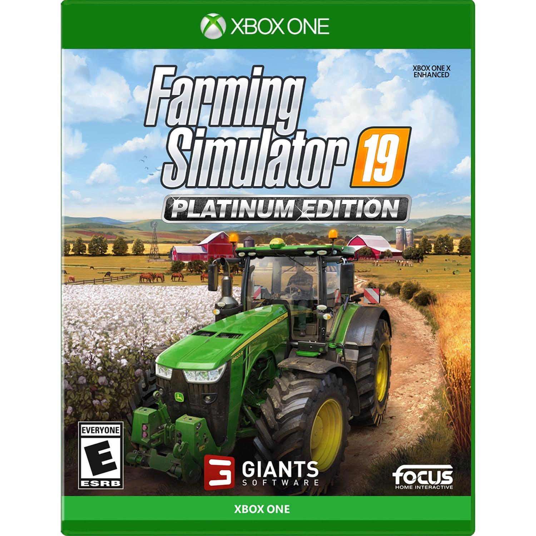 Farming Simulator 19 Platinum, Maximum Games, Xbox One, 859529007478