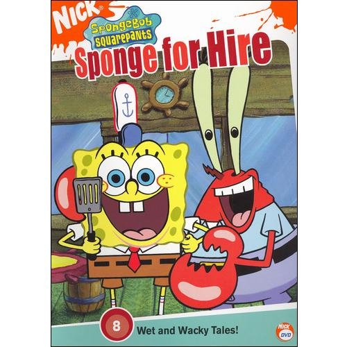 SPONGEBOB SQUAREPANTS-SPONGE FOR HIRE (DVD)
