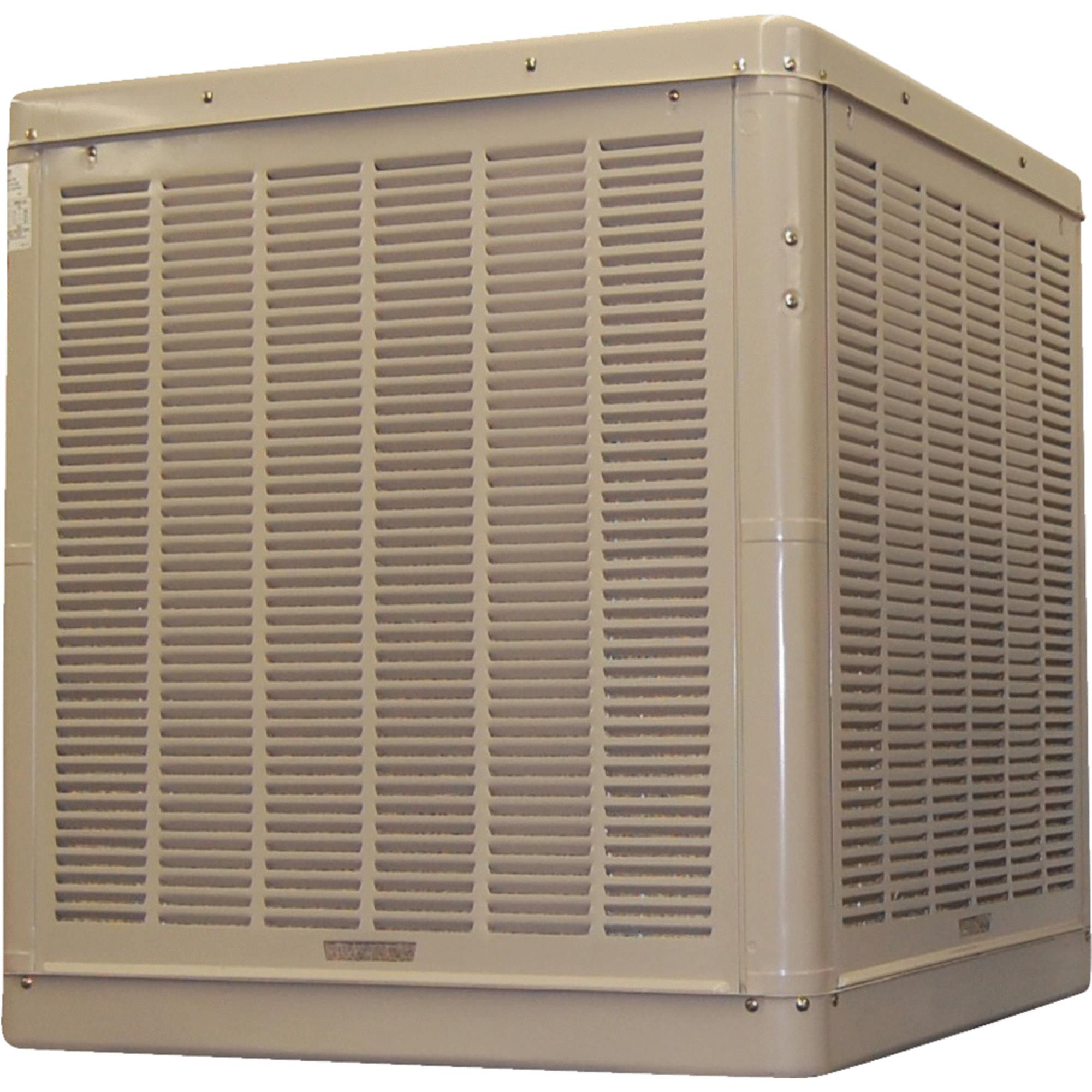 ESSICK AIR Ducted Evaporative Cooler,1/2 or 3/4HP N56/66D