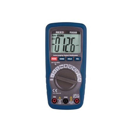 REED R5008 Compact Digital Multimeter with Temperature - image 1 of 1