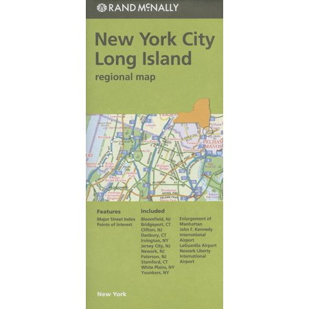 Rand mcnally: new york city/long island regional map - folded map: 9780528007781 - New York Regional Halloween Dance Singles