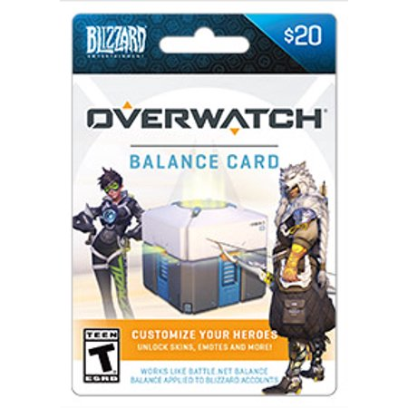 Blizzard Balance Overwatch $20 (email delivery)