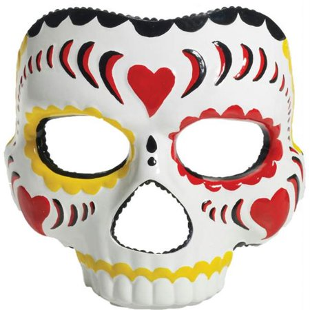 Costumes for all Occasions FM70469 Day Of The Dead Male Mask - Day Of The Dead Costume Mask
