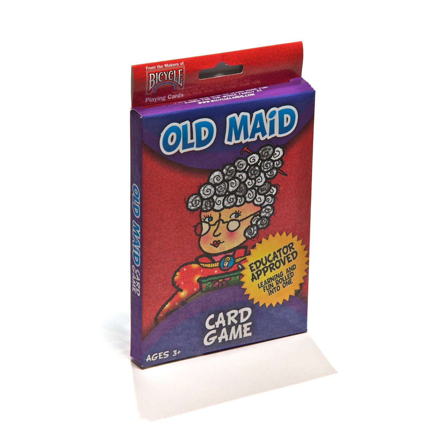 """Bicycle Big Box 3""""x5"""" Old Maid Kids Playing Cards #1004025"""
