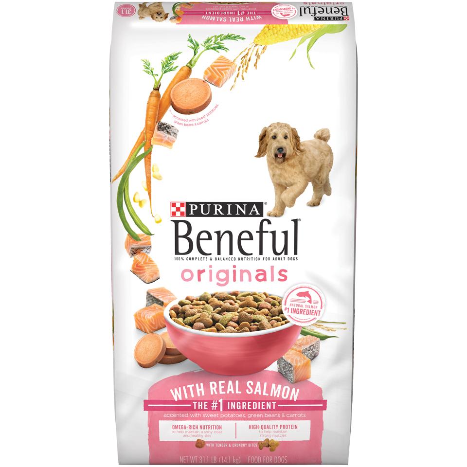 Purina Beneful Originals with Real Salmon Adult Dry Dog Food - 31.1 lb. Bag