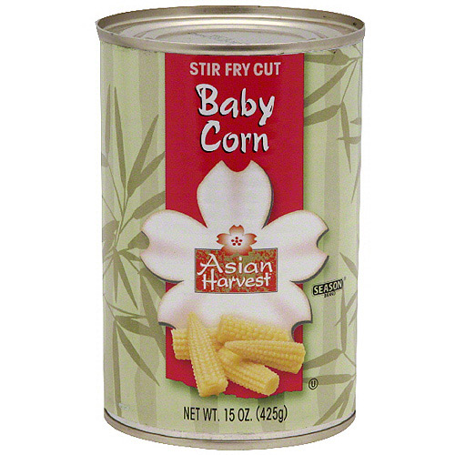 Asian Harvest Cut Baby Corn, 15 oz (Pack of 12)
