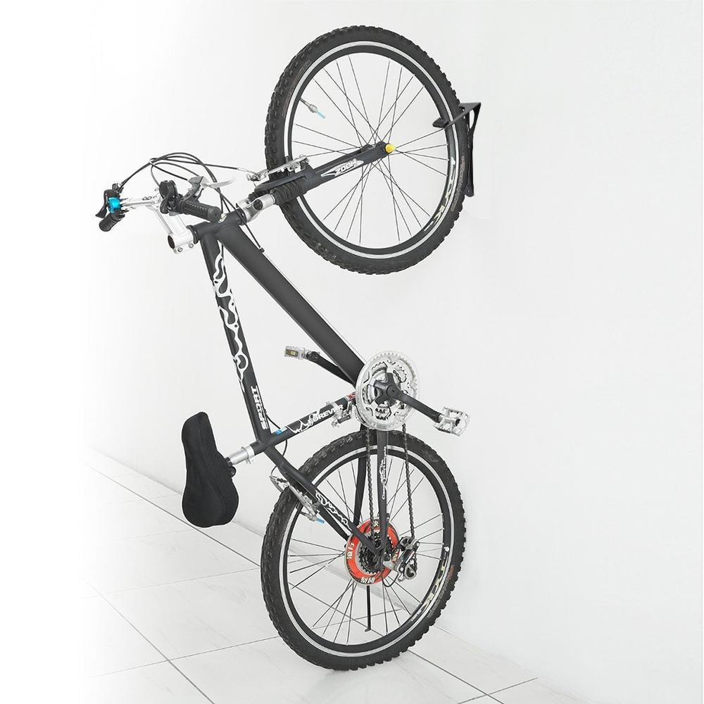 2 Bike Cycling Wall Mount Hook Hanger Garage Storage Holder Rack for Indoor Shed