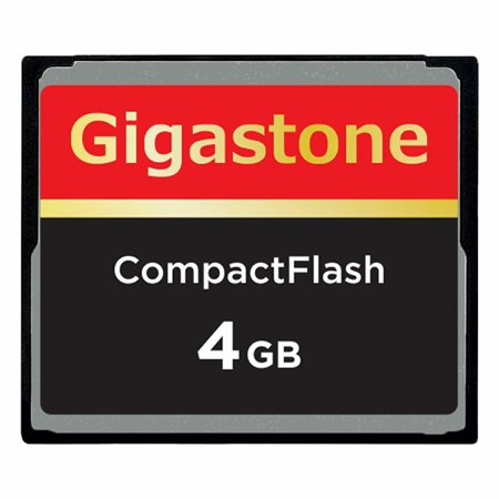 Dane-Elec/Gigastone 4GB Compact Flash Memory Card for Canon EOS 30D 350D 40D 5D D30, EOS 1D/ 5D/7D/10D/ Mark