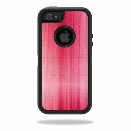 skin decal wrap for otterbox defender iphone 5 5s se case sticker pink stone. Black Bedroom Furniture Sets. Home Design Ideas
