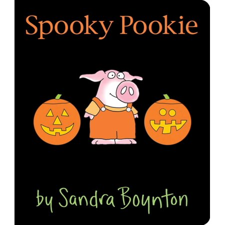 Spooky Pookie (Board Book) (Spooky Halloween Foods Easy)
