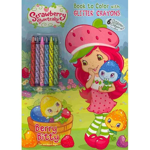 Berry Bitty [With 6 Glitter Crayons]