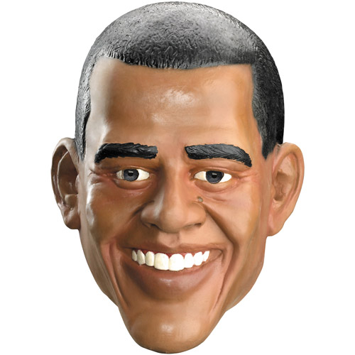 Presidential Obama Adult Halloween Mask