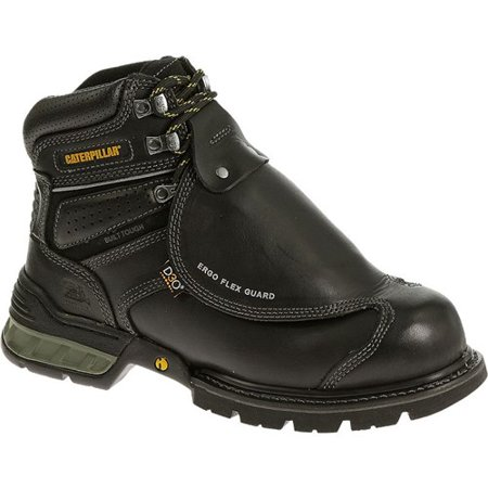 6d1bd5e9cac CAT Footwear - CAT Footwear Ergo Flexguard 6 Inch Steel Toe - Black 7.0(M) Mens  Work Boot - Walmart.com
