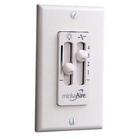 Minka Aire WC116 4 Speed Wall Mount Ceiling Fan Control (4 Speed Wall Control)