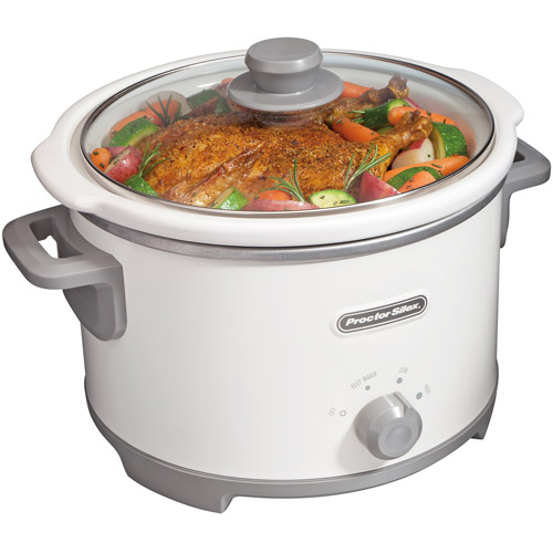 Proctor Silex 4 Quart Slow Cooker | Model# 33042
