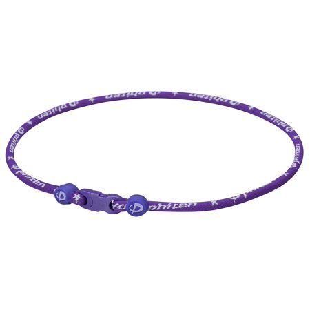 Titanium Necklace Star Star Necklace, Purple, 18, Permeated with Phiten's Aqua-Titanium technology By Phiten Ship from US