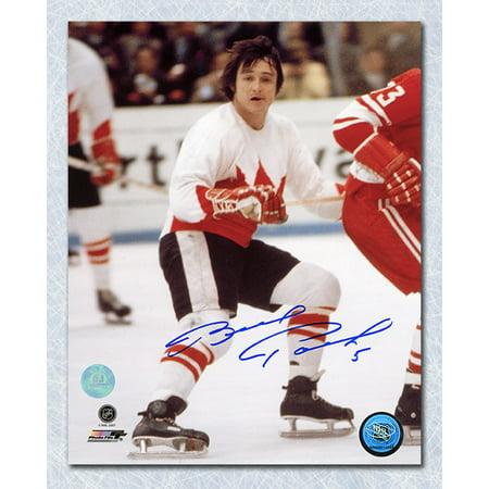 Brad Park Team Canada Autographed 1972 Summit Series 8x10 Photo - image 1 de 1