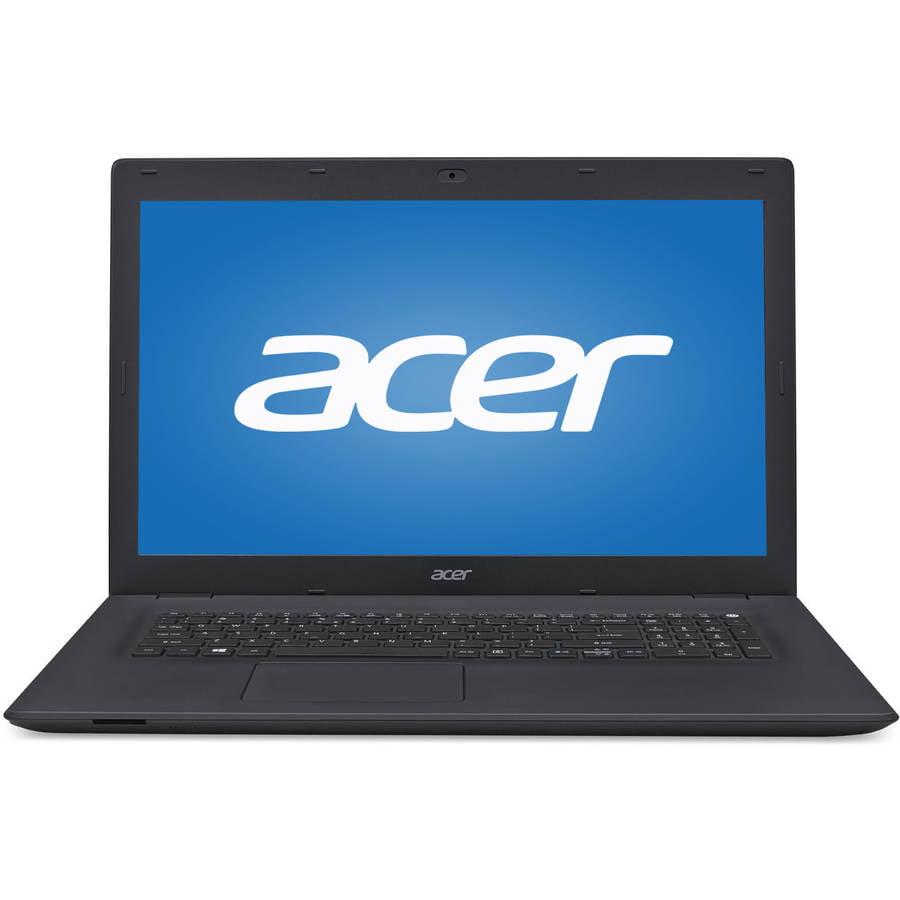 "Acer Black Pattern 17.3"" TravelMate P278 TMP278M52UJ Laptop PC with Intel Core i5-6200U Processor, 8GB Memory, 1TB Hard Drive ad Windows 10 Pro"